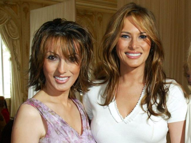 Who is Melania Trump's secret sister? Meet the US first lady's ...