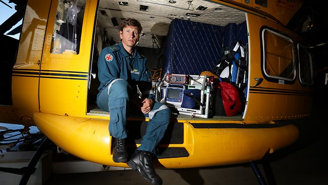 Darrin Hatchman is an Intensive Care Paramedic with Careflight