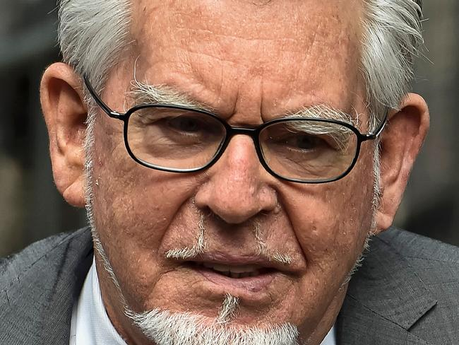 Rolf Harris was released from Stafford Prison after serving three years.