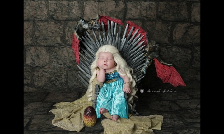Game of Thrones newborn photos will make you clucky