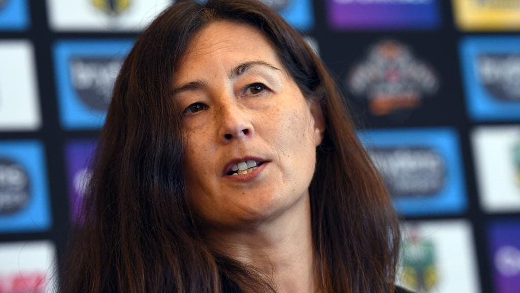 Wests Tigers chair Marina Go.