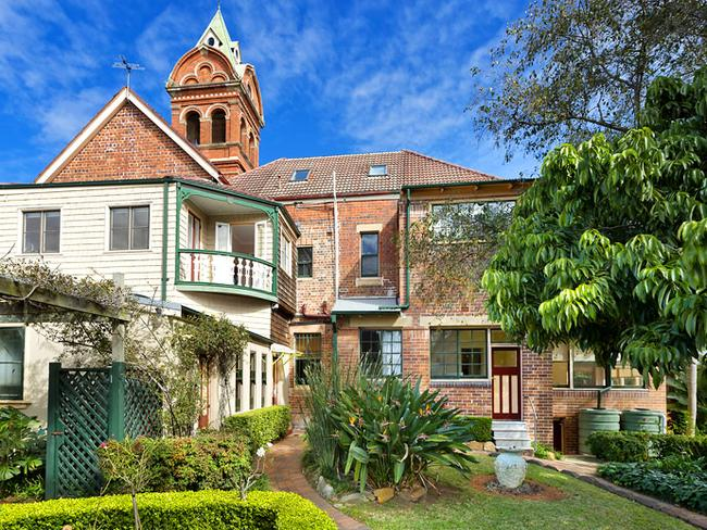 The iconic property is part of Ashfield's heritage walks.