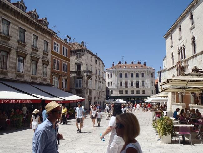 Split, Croatia. The thee Australians pleaded guilty to gang raping the Norwegian backpacker. Picture: Supplied.