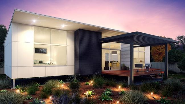Architect designed granny flats offer modern affordable for Granny house design