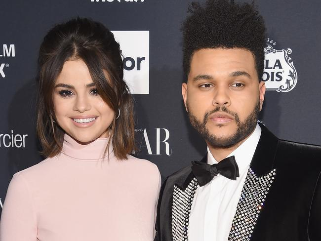 The Weeknd briefly dated Selena Gomez. Picture: Getty