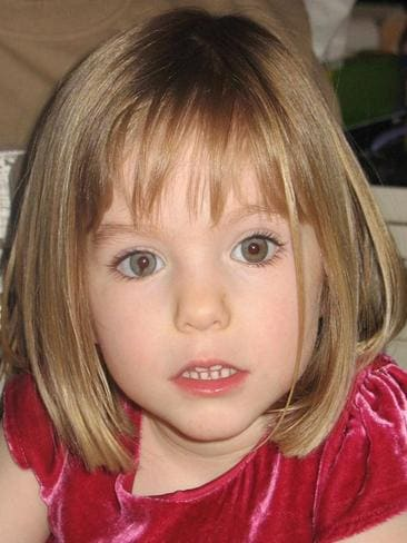 Little girl lost ... Madeleine McCann, who went missing from Praia de Luz in May 2007.