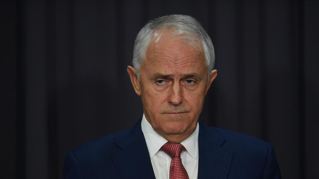 Prime Minister Malcolm Turnbull is going after corrupt union officials. Picture: AAP Image/Lukas Coch