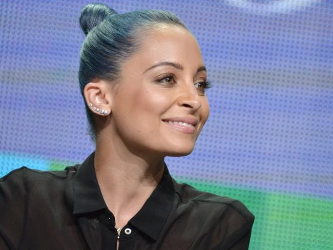 Mum of two ... Nicole Richie talks to other mums to improve her parenting. Picture: AP