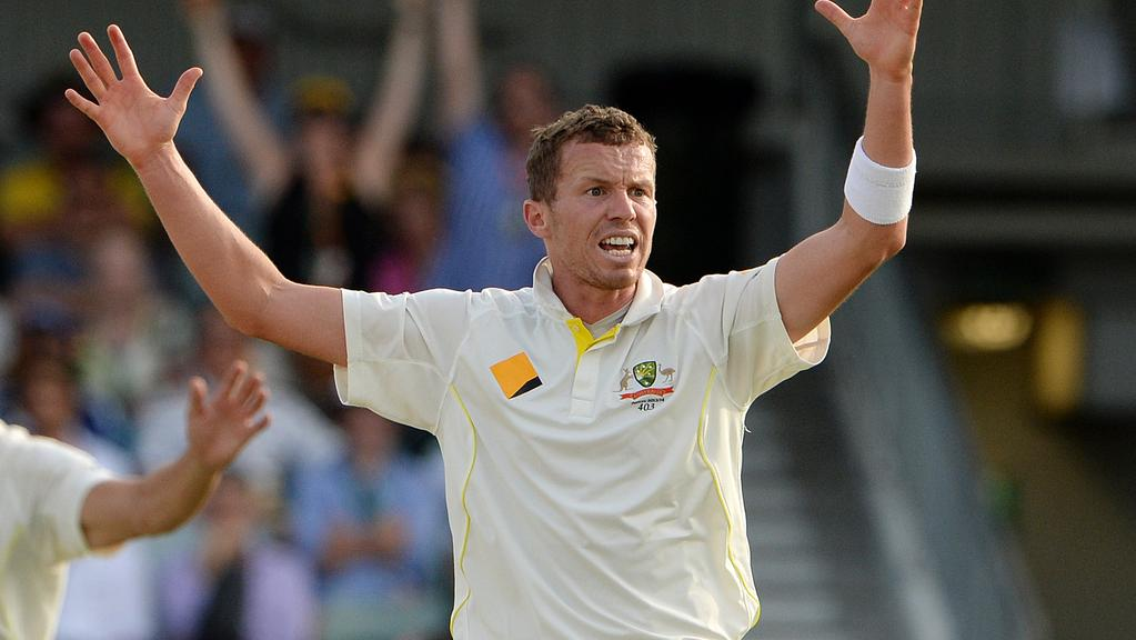 Peter Siddle didn't think much of AB de Villiers' comments on sledging.