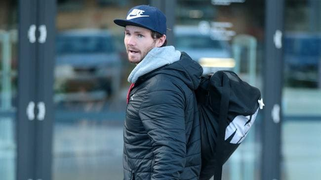 Patrick Dangerfield has been named by Geelong. Picture: Alison Wynd