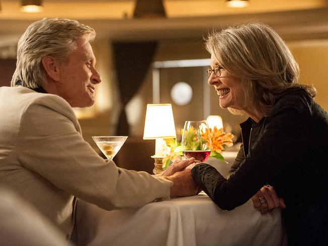 Diane Keaton, as Leah, goes from loathing neighbour to romantic interest in  <i>And So It Goes. </i>Picture: Supplied