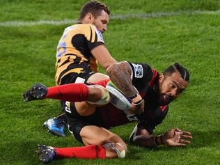 Super Rugby Rd 5 - Crusaders v Force