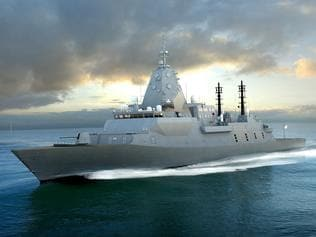 Supplied Editorial Business: A concept image of BAE's Type 26 Global Combat Ship (for the Future Frigate program). S