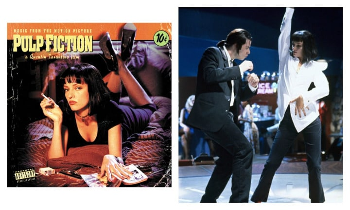 "PULP FICTION: ""The music isn't even to my usual taste, but every single track makes you remember the movie. You can sing along and close your eyes and you're almost Mia Wallace,"" said Claire."