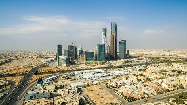 Oil and gas accounts for about half of Saudi Arabia's GDP. Picture: Bloomberg
