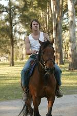 <p>Actor Chris Hemsworth from TV 'Home And Away'.</p>