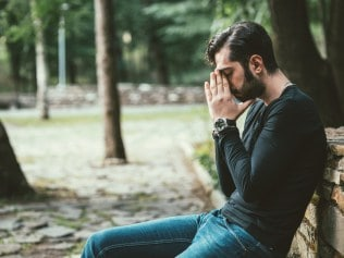 One in two men will struggle with their mental health. Photo: iStock