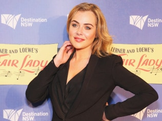 Jessica Marais arrives at My Fair Lady opening night at Sydney Opera House, September 6, 2016 in Sydney. Photo: Don Arnold/Getty Images.