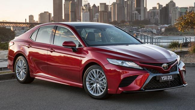 The new Camry may be dearer than before but it is still cheaper than most rivals. Picture: Supplied.