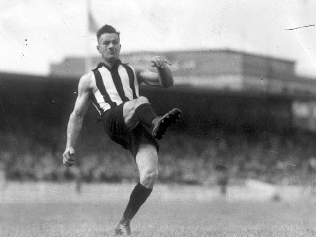 Collingwood's goalkicking hero Gordon Coventry.