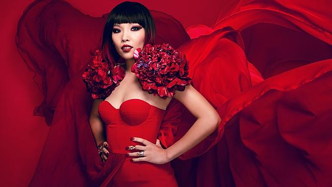X Factor winner ... Dami Im returns with her first post-show single Super Love. Picture: Peter Brew-Bevan