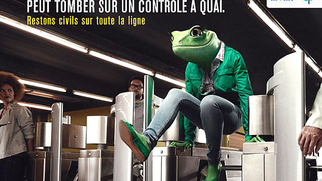 Manners have gone out the window in recent years. Picutre: RATP