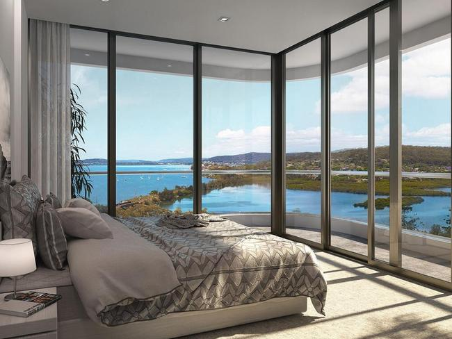 2-6 Wilhelmina St comes with Gosford's most spectacular outlook.