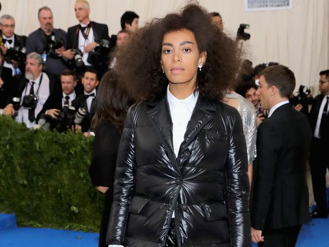 Solange admitted she wasn't sure whether to go public with her health struggle. Picture: Getty