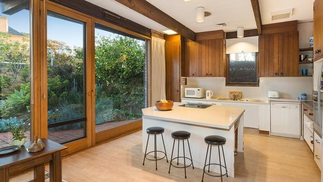 Timber features add character in the kitchen.