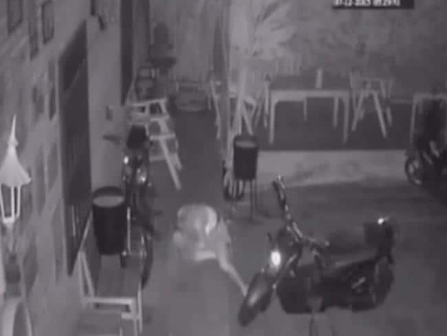 The woman suffered multiple head injuries. Picture: YouTube