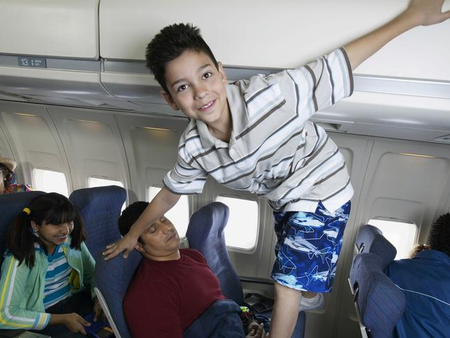 Travelling with kids can be ... challenging. Picture: Thinkstock
