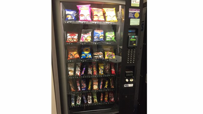 We asked Melissa to give her verdict on this vending machine