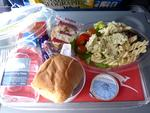 <p>Inflight meal at Qantas / Flickr user Andy Mitchell UK</p>