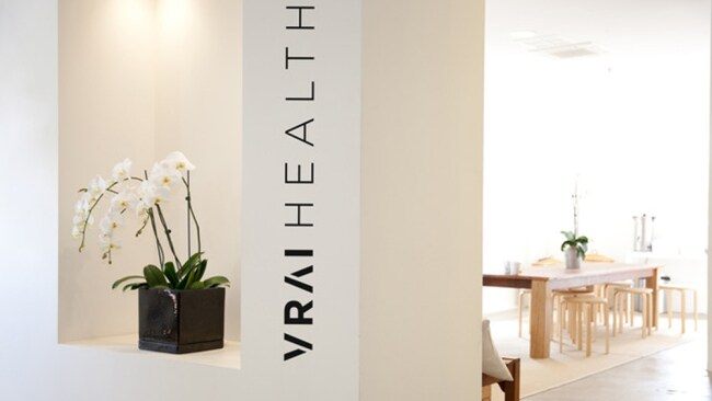 Image: Supplied. VRAI Health in Surry Hills