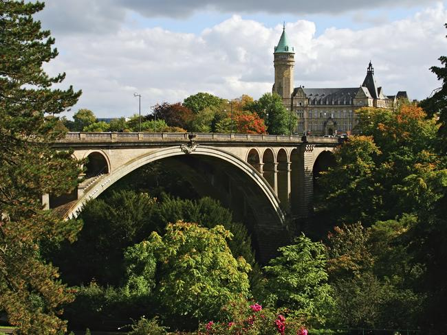 Luxembourg in Luxembourg.