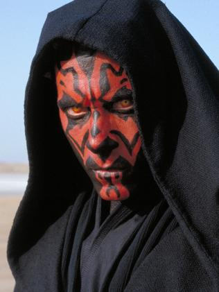 Ray Park starred as Darth Maul.
