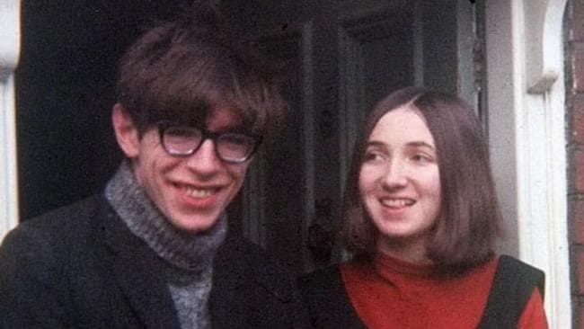 Stephen and Jane Hawking as a young couple.