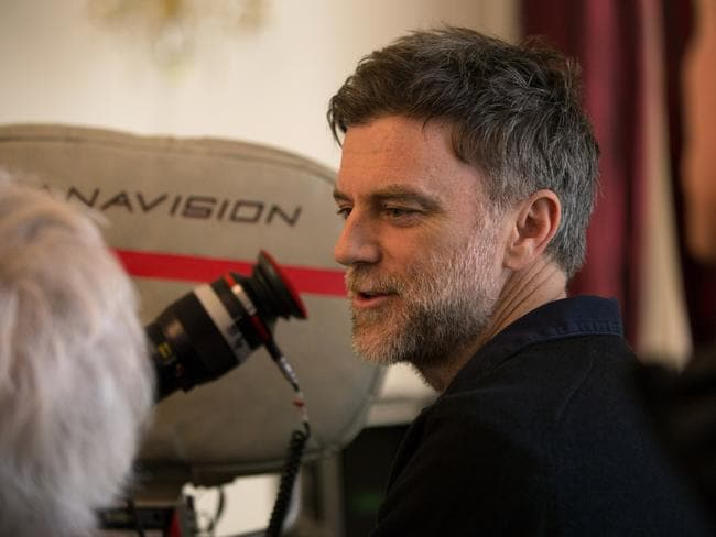 Anderson at work on the London set of Phantom Thread. Picture: Universal Pictures