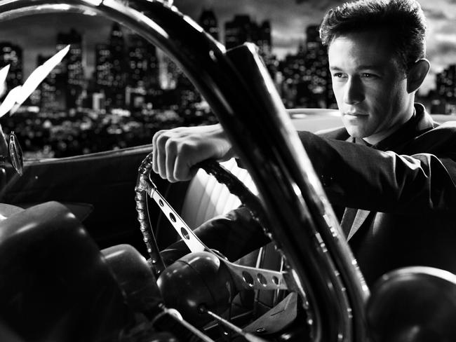 Hollywood star ... Joseph Gordon-Levitt in a scene from Frank Miller's Sin City: A Dame to Kill For. Picture: Supplied