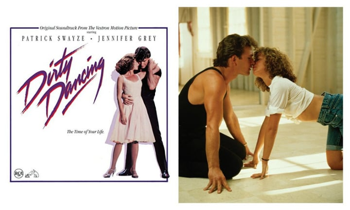 "DIRTY DANCING: ""You cannot even say Dirty Dancing without Time Of My Life playing in your head and of course reliving the love story of Baby and Johnny and all of those amazing dance numbers. It really made me want to learn how to dance, despite being super uncoordinated. Still an all-time favourite,"" said Amy"