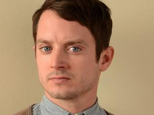 PARK CITY, UT - JANUARY 19: Actor Elijah Wood poses for a portrait during the 2014 Sundance Film Festival at the Getty Images Portrait Studio at the Village At The Lift on January 19, 2014 in Park City, Utah. (Photo by Larry Busacca/Getty Images) Pic. Images Getty Pic. Getty Images