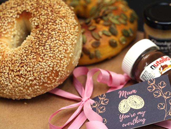 Brooklyn Boy Bagels' Mother's Day pack. Picture: Michael Shafran