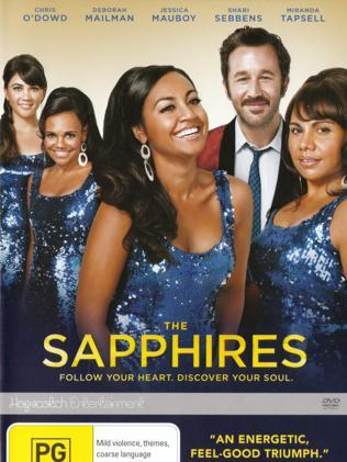 The Australian DVD cover for The Sapphires distributed by Hopscotch Entertainment. Picture: AP Photo