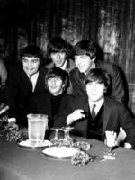 The Beatles at their Melbourne press conference, Southern Cross Hotel, 14 June 1964. Photo by Laurie Richards. Arts Centre Melbourne, Performing Arts Collection