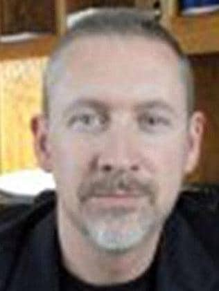 'Very surreal'... Philip Wood, 51, had visited his family in Texas as recently as last week.