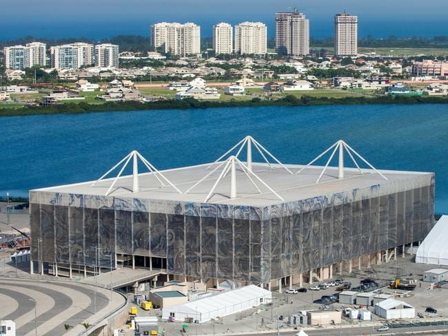 Barra aquatic Centre in 2016. Picture: Brazil.gov
