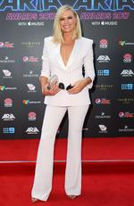 Sonia Kruger arrives on the red carpet for the 31st Annual ARIA Awards 2017 at The Star on November 28, 2017 in Sydney, Australia. Picture: Getty