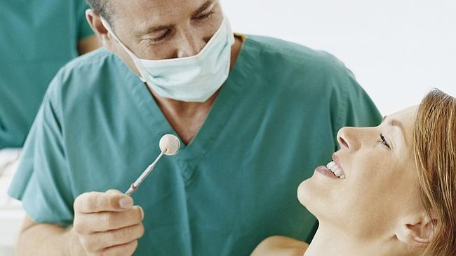 'Have you been oil pulling?' said no dentist, ever. Picture: Thinkstock.