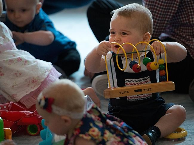 Prince George of Cambridge gets an abacus when he wants one. Picture: Getty Images