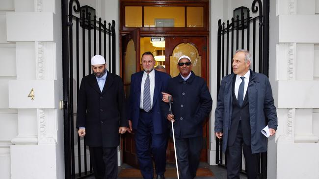 Focus on the good ... Tony Abbott said he would prefer to talk about the many Muslim Leaders who did attend the meeting. Picture: News Corp.